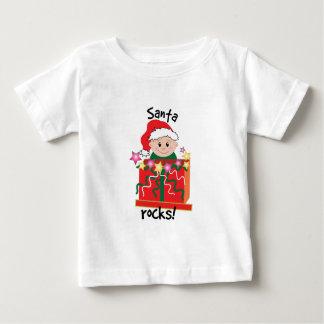Santa Rocks! T Shirt