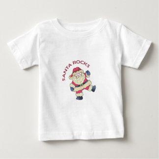 Santa Rocks T Shirts