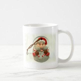Santa rojo taza de café