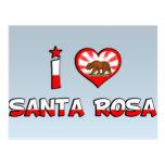 Santa Rosa, CA Postales