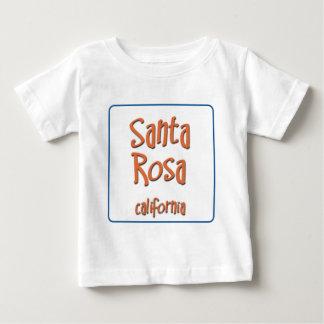Santa Rosa California BlueBox Baby T-Shirt
