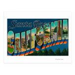 Santa Rosa, California - escenas grandes de la Postales