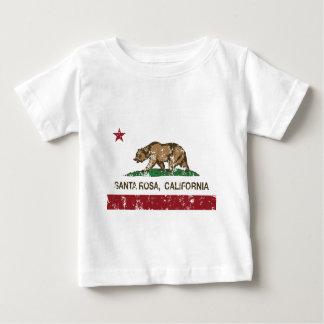 santa rosa california state flag baby T-Shirt