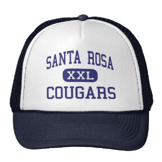 Santa Rosa Cougars Middle Santa Rosa Trucker Hat