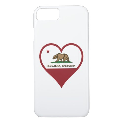 Santa Rosa Love Phone Case