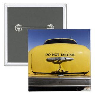Santa Rosa, New Mexico,United States. Old Yello 2 Pinback Button