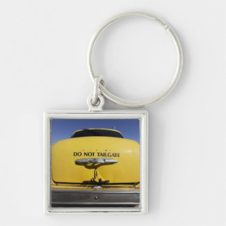 Santa Rosa, New Mexico,United States. Old Yello 2 Keychain