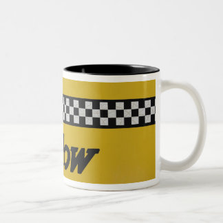 Santa Rosa, New Mexico,United States. Old Yello Two-Tone Coffee Mug
