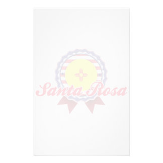 Santa Rosa, NM Personalized Stationery