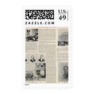 Santa Rosa Offices Minnie Coulter, California Postage Stamp