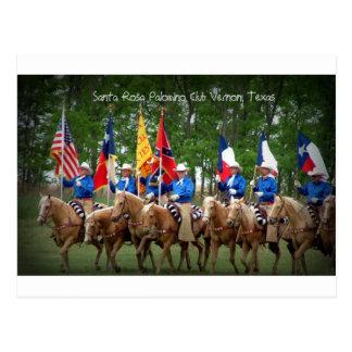 Santa Rosa Palomino Club Vernon, Texas Postcard