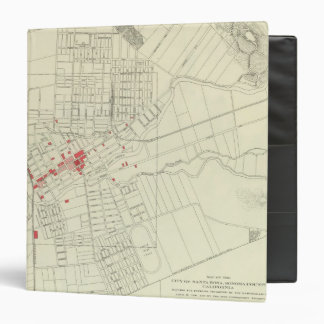 Santa Rosa, portions destroyed by earthquake 3 Ring Binder