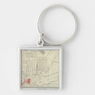 Santa Rosa, portions destroyed by earthquake Keychain