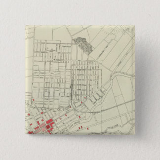 Santa Rosa, portions destroyed by earthquake Pinback Button