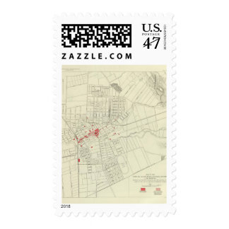 Santa Rosa, portions destroyed by earthquake Postage