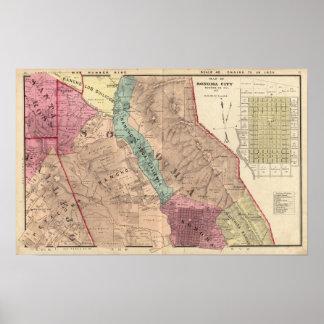 Santa Rosa, Vallejo, y los municipios de Sonoma Póster