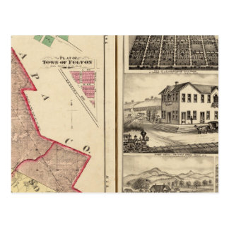 Santa Rosa y los municipios y opiniones de Sonoma Postales