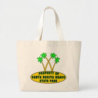 Santa Rosita Beach State Park Tote Bags