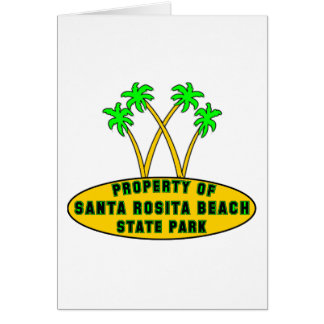 Santa Rosita Beach State Park Card