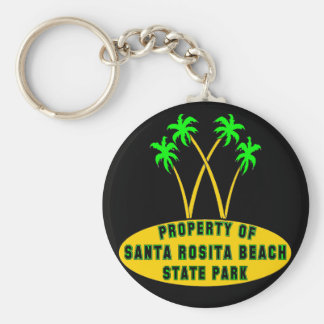 Santa Rosita Beach State Park Keychain