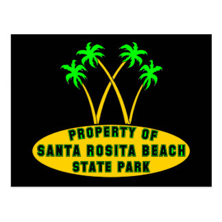Santa Rosita Beach State Park Postcard