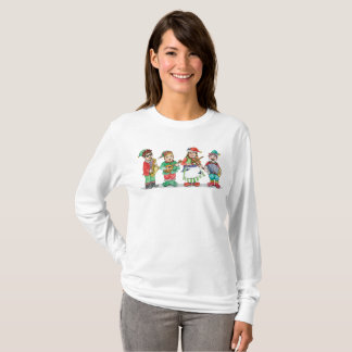 Santa's Band of Elves Tee