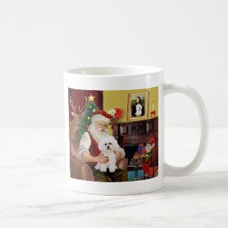 Santa s Bichon Frise 2 Mug