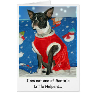 Santa's Boss Card
