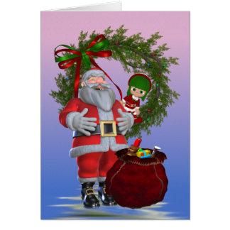 Santa`s Christmas Card