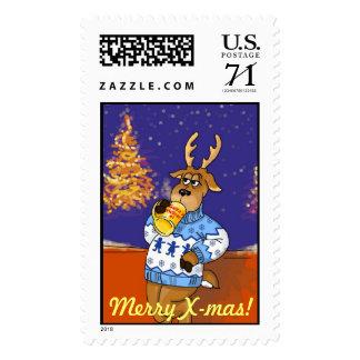 Santa`s helper #1 postage