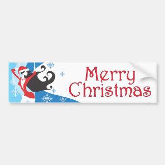 Santa s Helper - Merry Christmas Bumper Sticker