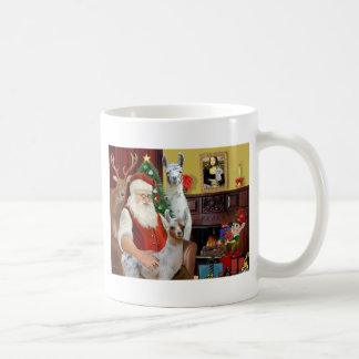 Santa s Mama Llama and Baby Coffee Mugs