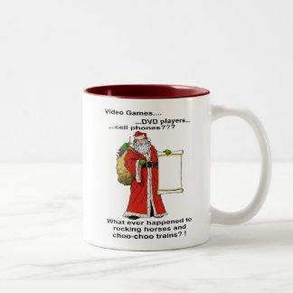 Santa's New Gift List Mug