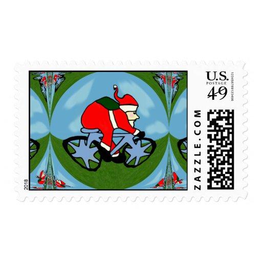 Santa's Pushy Stamp
