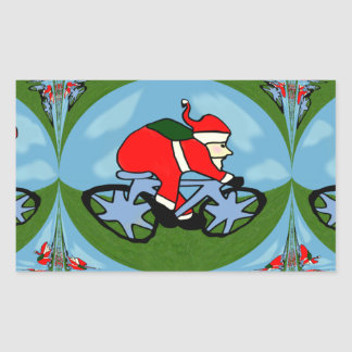Santa's Pushy Stickers