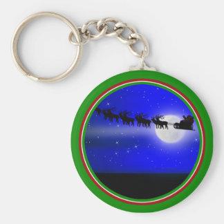 Santa s Sleigh Ride Key Chains