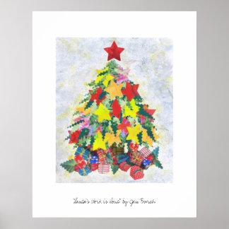 Santa s Work is Done print