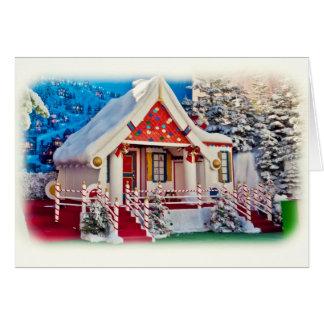 Santa s Workshop Greeting Card