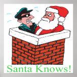 Santa sabe impresiones