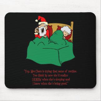 Santa sabe alfombrillas de raton