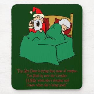 Santa sabe alfombrillas de ratón