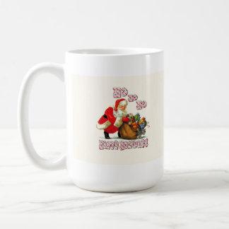Santa says Ho Ho Ho! Coffee Mug