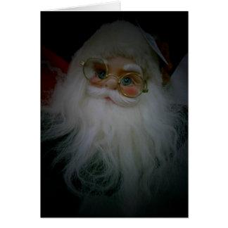 SANTA SAYS MERRY CHRISTMAS GREETING CARD