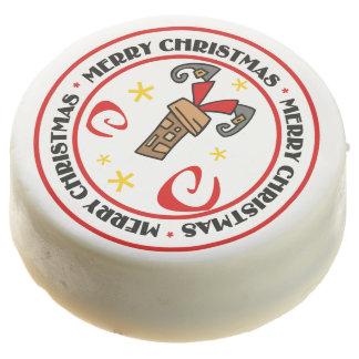Santa se pegó en chimenea
