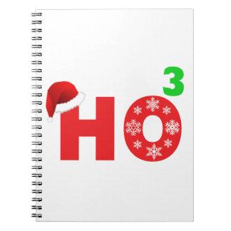 santa se ríe de navidad notebook