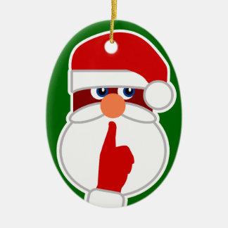 Santa secreto adorno de navidad