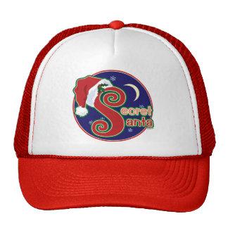 Santa secreto gorras