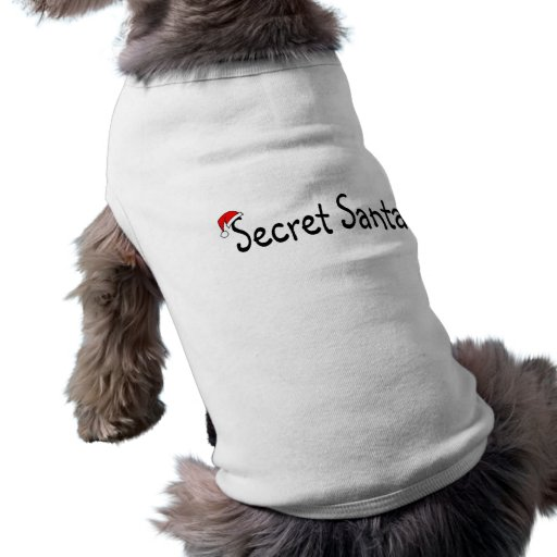 Santa secreto ropa de perros