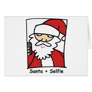 Santa Selfie Felicitaciones