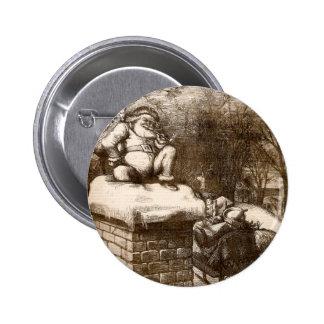 Santa semanal 1865 de Thomas Nash Harper del Pin Redondo De 2 Pulgadas